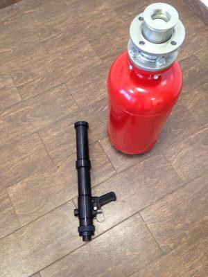 Специальное оборудование для применения пневмовзрыва