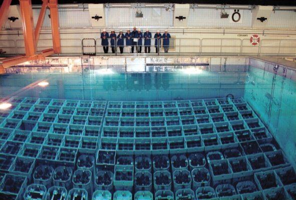 Очистка бассейнов выдержки АЭС специалистами компании АСГАРД-Сервис