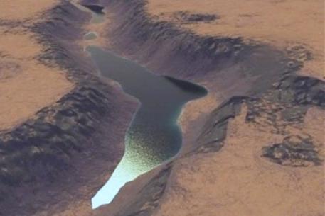 Нефть на Марсе?