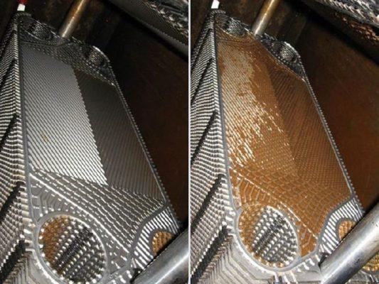 АСГАРД-Сервис провёл очистки пластин теплообменника