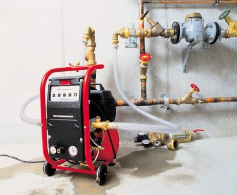 Оборудование для гидродинамической и гидрохимической промывки