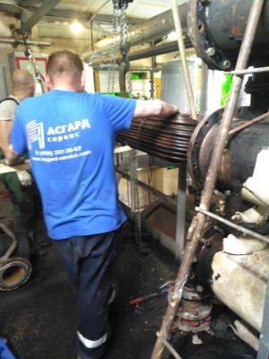 Профессиональная работа специалистов компании АСГАРД-Сервис на объекте заказчика
