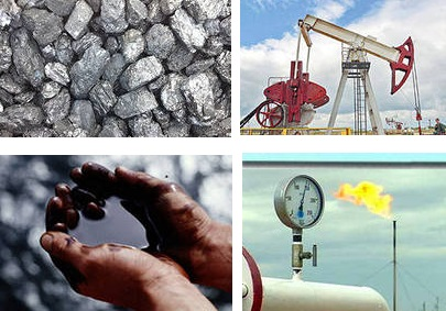 Энергоресурсы - нефть, газ и уголь