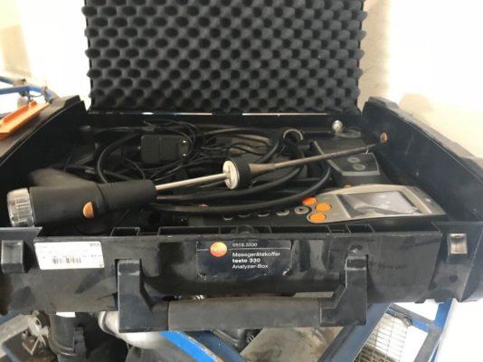 Газоанализатор, также входит в перечень используемого оборудования компанией АСГАРД