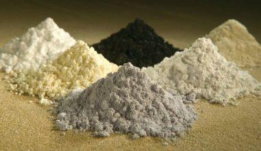 Оксиды редкоземельных металлов