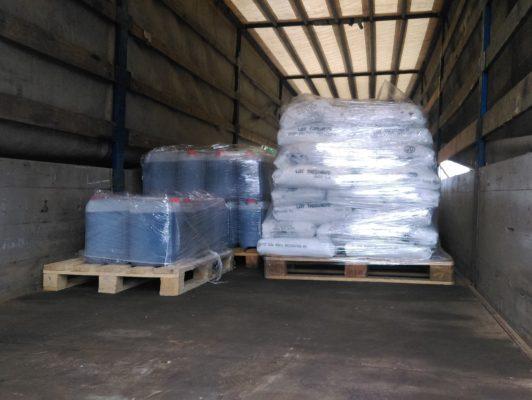Перевозка необходимого оборудования к месту проведения работ