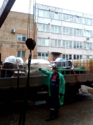 Прибытие оборудования АСГАРД-Сервис на объект