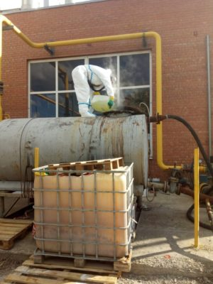 Процесс химической очистки котла