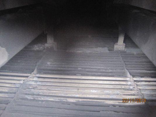 Обработку межтрубного котла-утилизатора