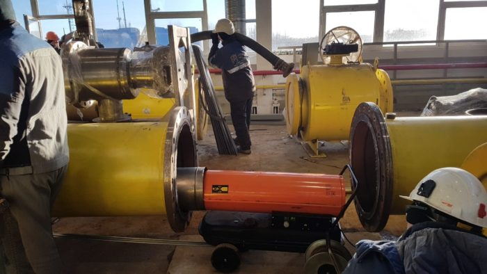 Консервация трубопроводов азотом