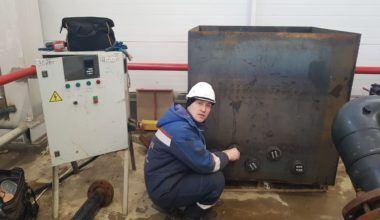 Подготовка временной схемы трубопроводов под промывку