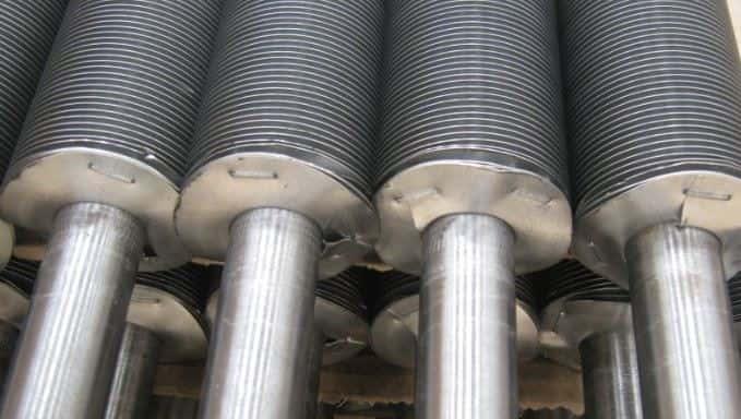 Трубы теплообменника с внешним оребрением
