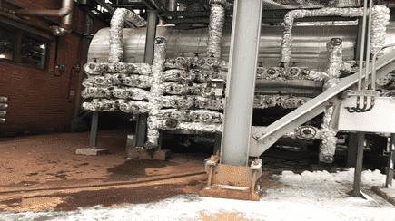 Работы по освобождению и очистке емкостей 01-В-170 и 02-В-170 УПВСК